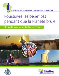 THREE ACTIVIST GUIDES ClimatechangeFrenchcover