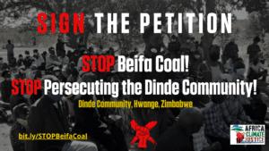 stop beifa coal petition