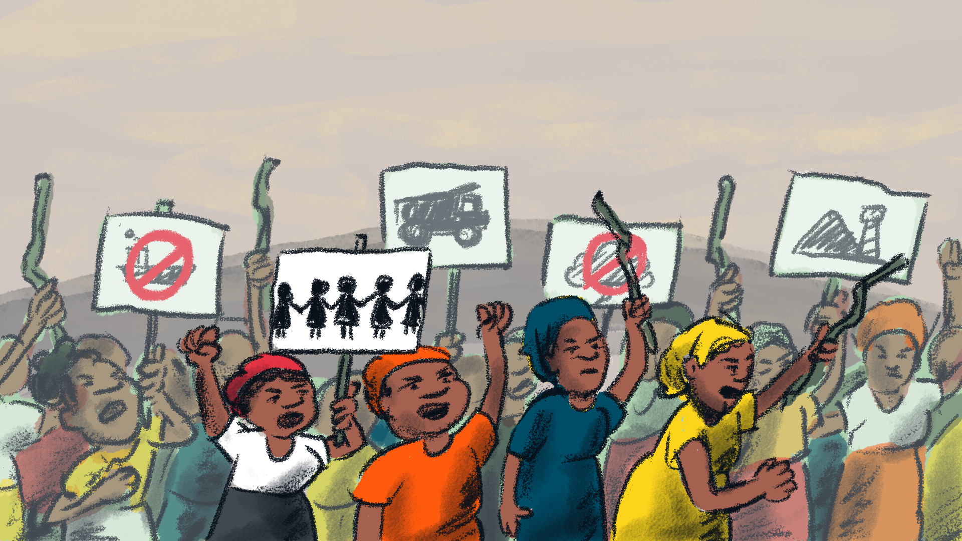 Polluters & Plunderers: The Roots of Africa's Crises. Animated Short Film Series Panel 50